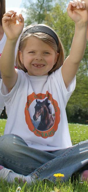 Kids Foto-T-Shirt, weiß